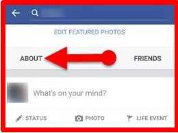 how to hide birthday on facebook iphone