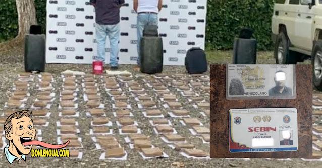 Funcionario del SEBIN atrapado con 100 kilos de marihuana en Portuguesa