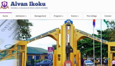 Alvan Ikoku Federal College of Education
