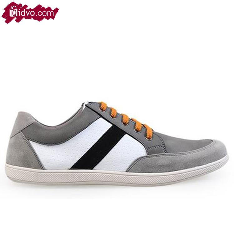 Sepatu Sneakers Mens Republic Alhena Strip - Grey