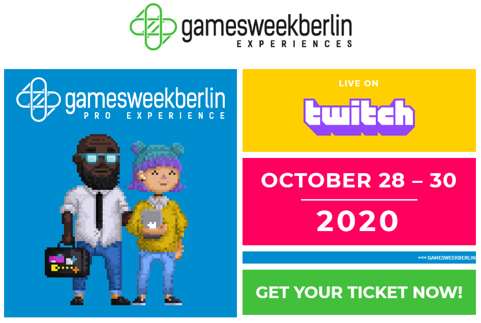 #gamesweekberlin 2020
