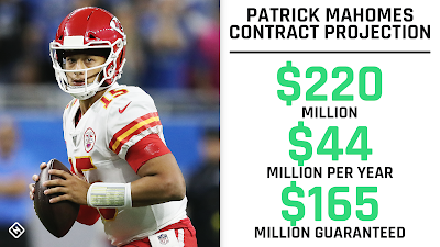 patrick mahomes new contract is biggest in history