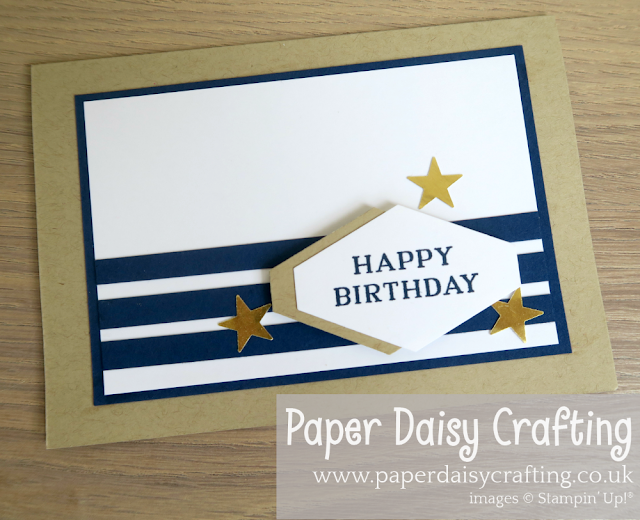 Male Birthday Card Stampin Up