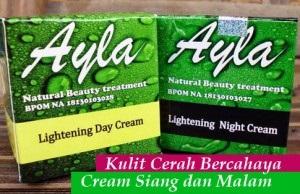 Ayla cream malam aman BPOM untuk perawatan jerawat kusam kering