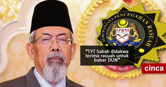 TYT Sabah didakwa terima rasuah untuk bubar DUN