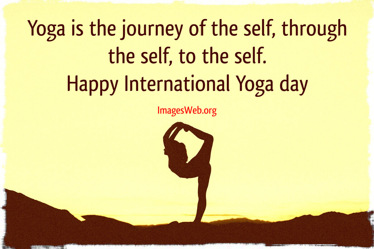 International Yoga Day Quotes Images