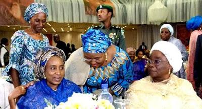 Aisha Buhari Meets Patience Jonathan, Late Maryam Babangida Celebrated(photos)