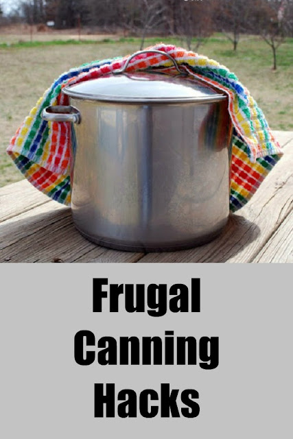 Frugal canning hacks: how to save some money and still follow safe canning practices.