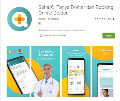 Fitur Lengkap dan Mudah | SehatQ.com Aplikasi Konsultasi Kesehatan Terbaik
