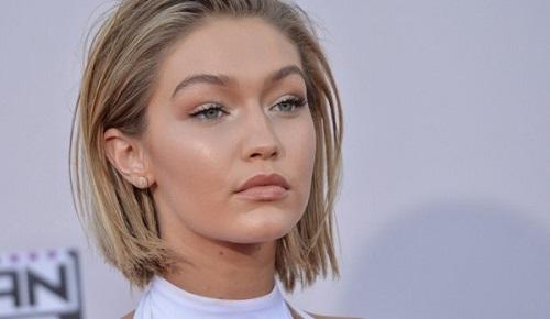 Gigi Hadid hair 2018