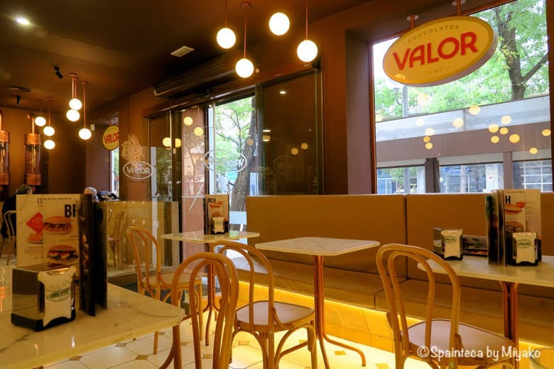 Chocolaterías Valor スペイン老舗チョコレート屋バロールの店内