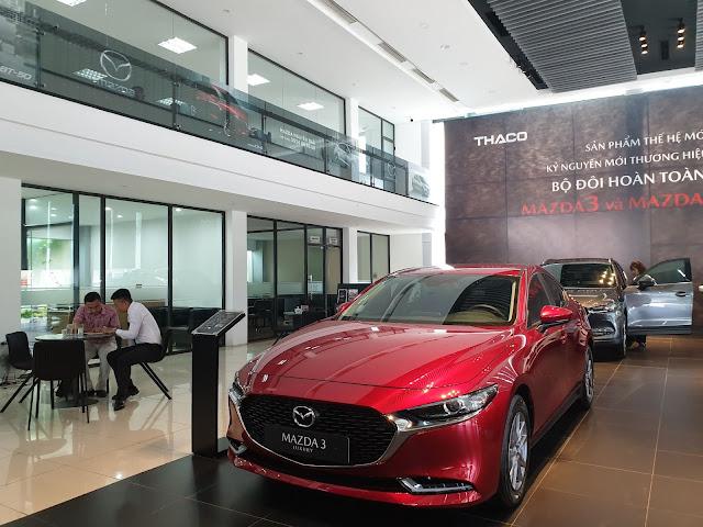 Đại lý Mazda giảm tới 150 triệu đồng