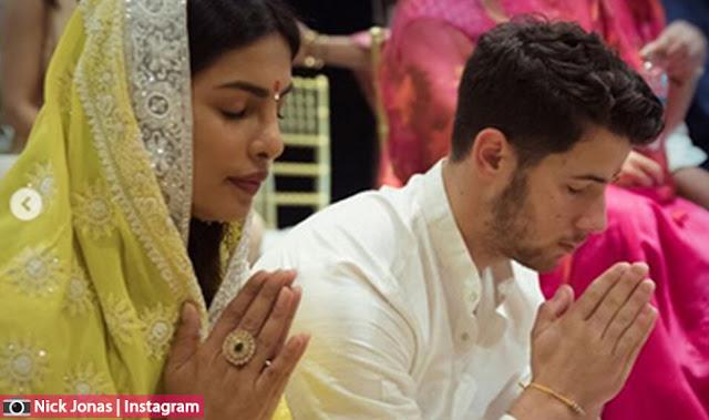 المغني الامريكي نيك جوناس يؤكد خطبته رسميا من  الممثلة الهندية بريانكا شوبرا بهذه الصور الرومانسية