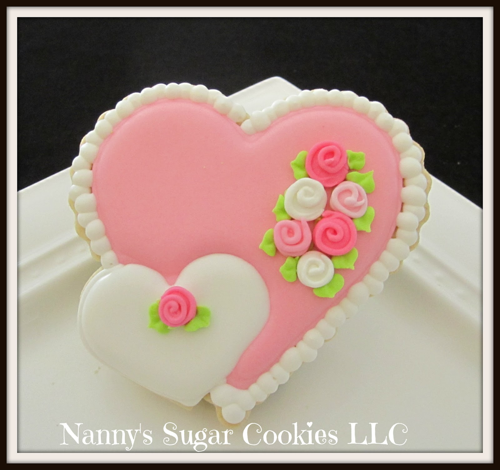 Nanny\'s Sugar Cookies LLC: 2018 Valentine\'s Day Cookie Favors...