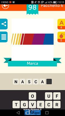Iconica Italia Pop Logo Quiz soluzione pacchetto 6 livelli 98-100
