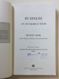 Business An Introduction