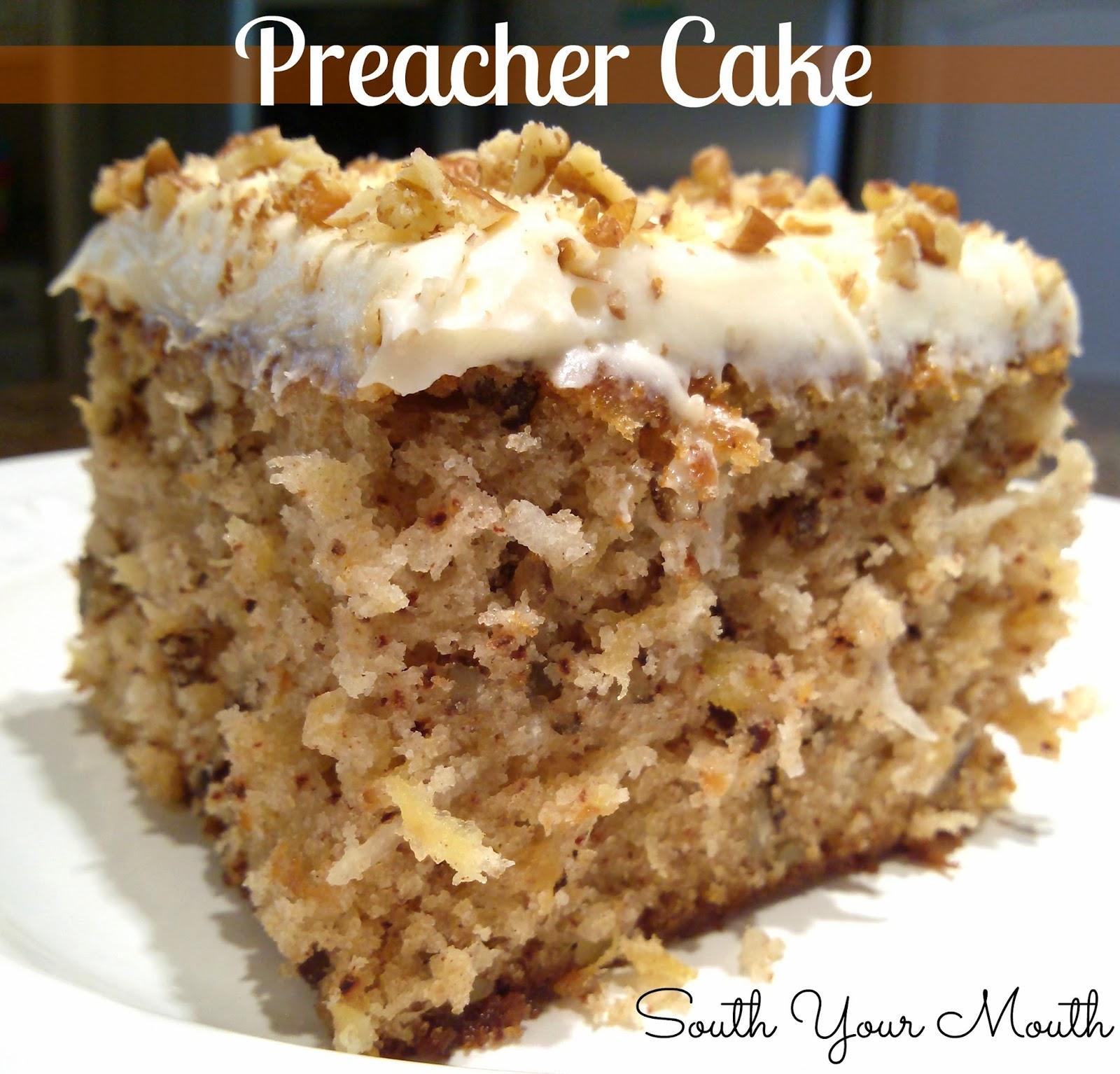 Southern Preacher Cake Recipe