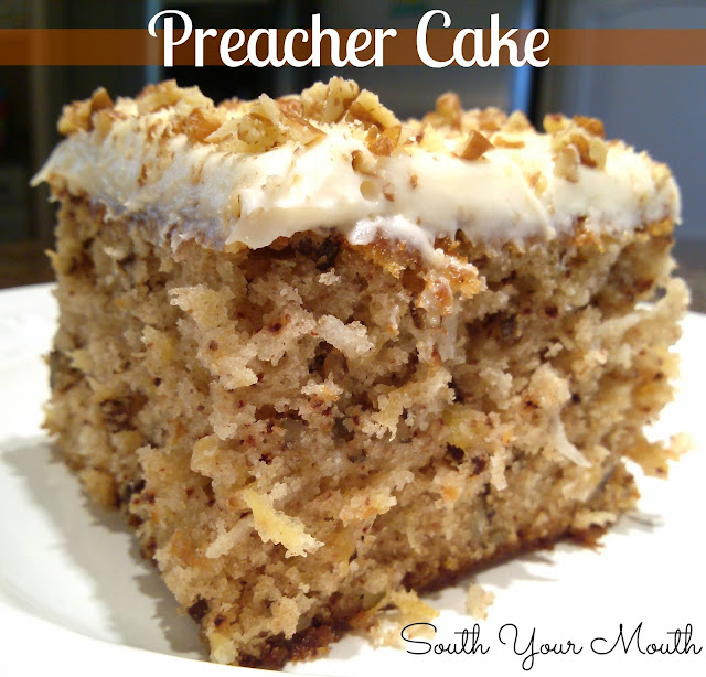 Preacher Cake With Cream Cheese Frosting