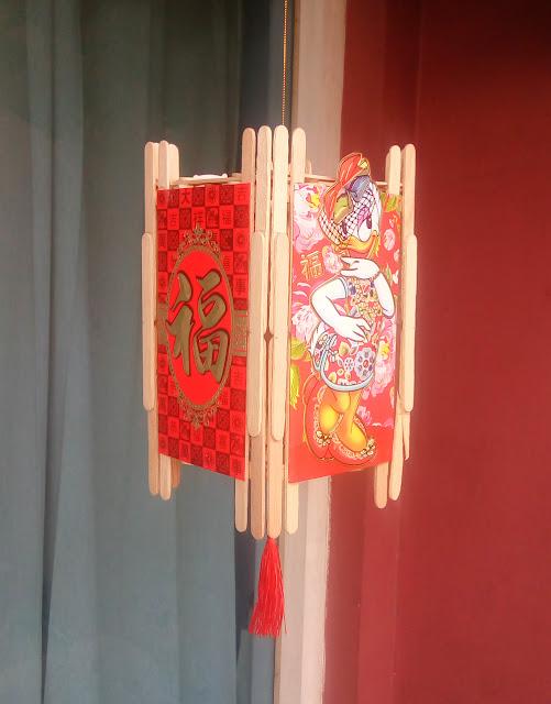 Lampion Angpau Desi Bebek