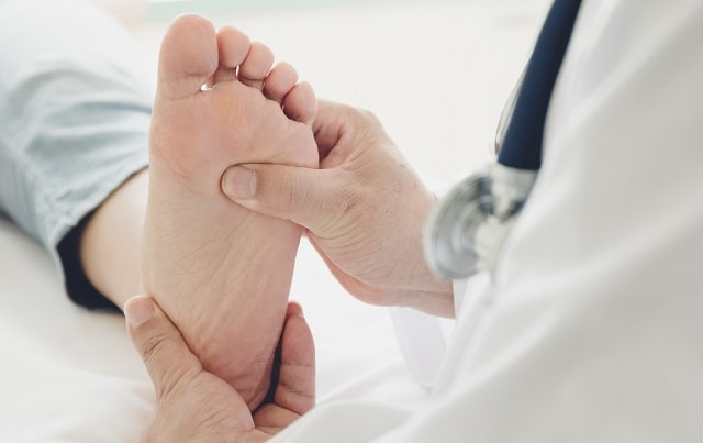 why see podiatrist often leg veins foot pain ankle problems