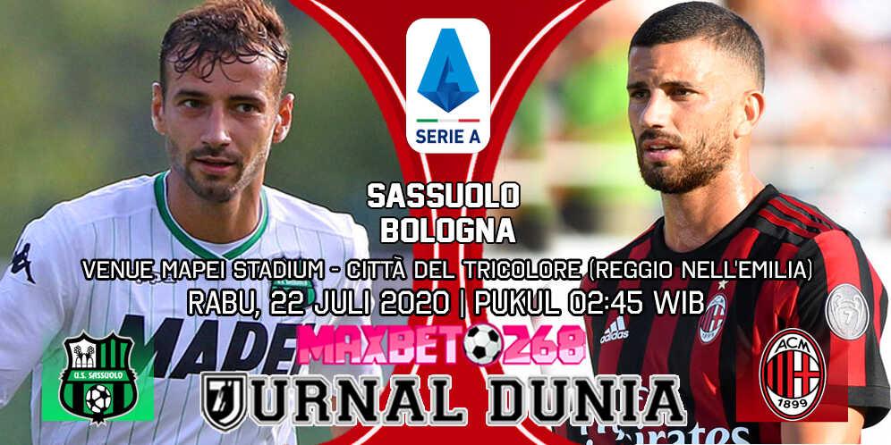 Prediksi Sassuolo vs AC Milan 22 Juli 2020 Pukul 02:45 WIB