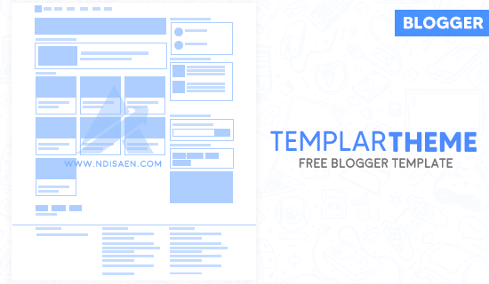 TemplarTheme Free Blogger Template
