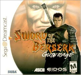 Sword of the Berserk: Gut's Rage Sega Dreamcast horror game cover art