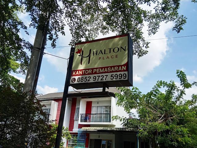 Harga Perumahan Halton Place Medan