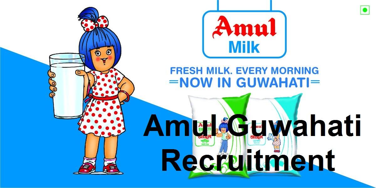 Amul Guwahati Recruitment 2021: