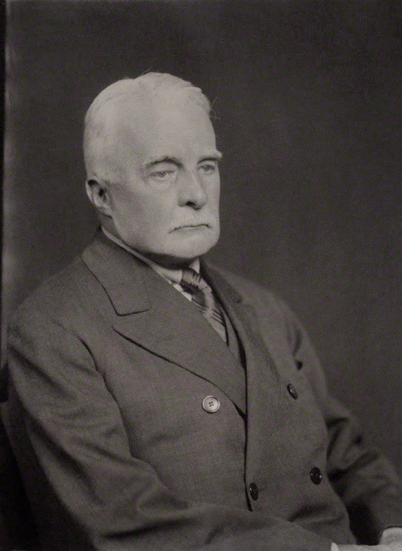 Sir Arthur Grant Duff  Minister Resident, British Legation  (From National Portrait Gallery)