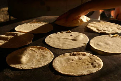 tortilla hecho a mano