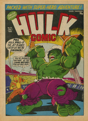 Hulk Comic #44, the Goldbug