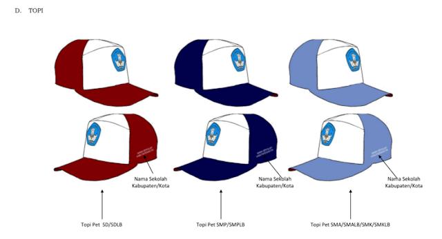 Topi Sekolah menurut Permen 2014
