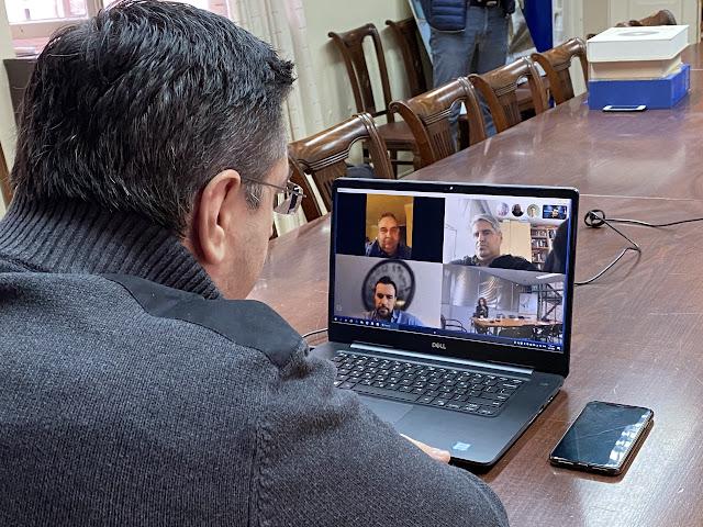 Τηλεδιάσκεψη του Περιφερειάρχη Απόστολου Τζιτζικώστα με τους φορείς του τουρισμού της Κεντρικής Μακεδονίας για την αντιμετώπιση των επιπτώσεων της πανδημίας του κορωνοϊού στον κλάδο