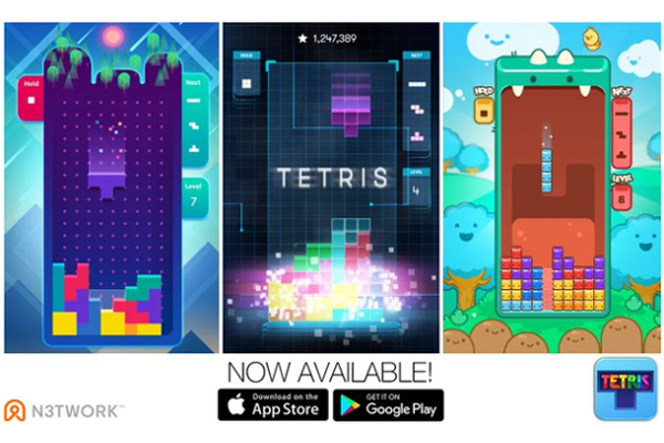 N3TWORK releases Tetris for Android and iOS
