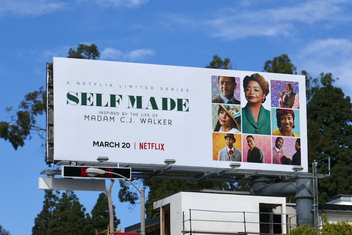 Self Made Madam CJ Walker billboard