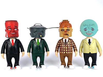 HEADS Vinyl Figure Series by Bob Dob x 3DRetro