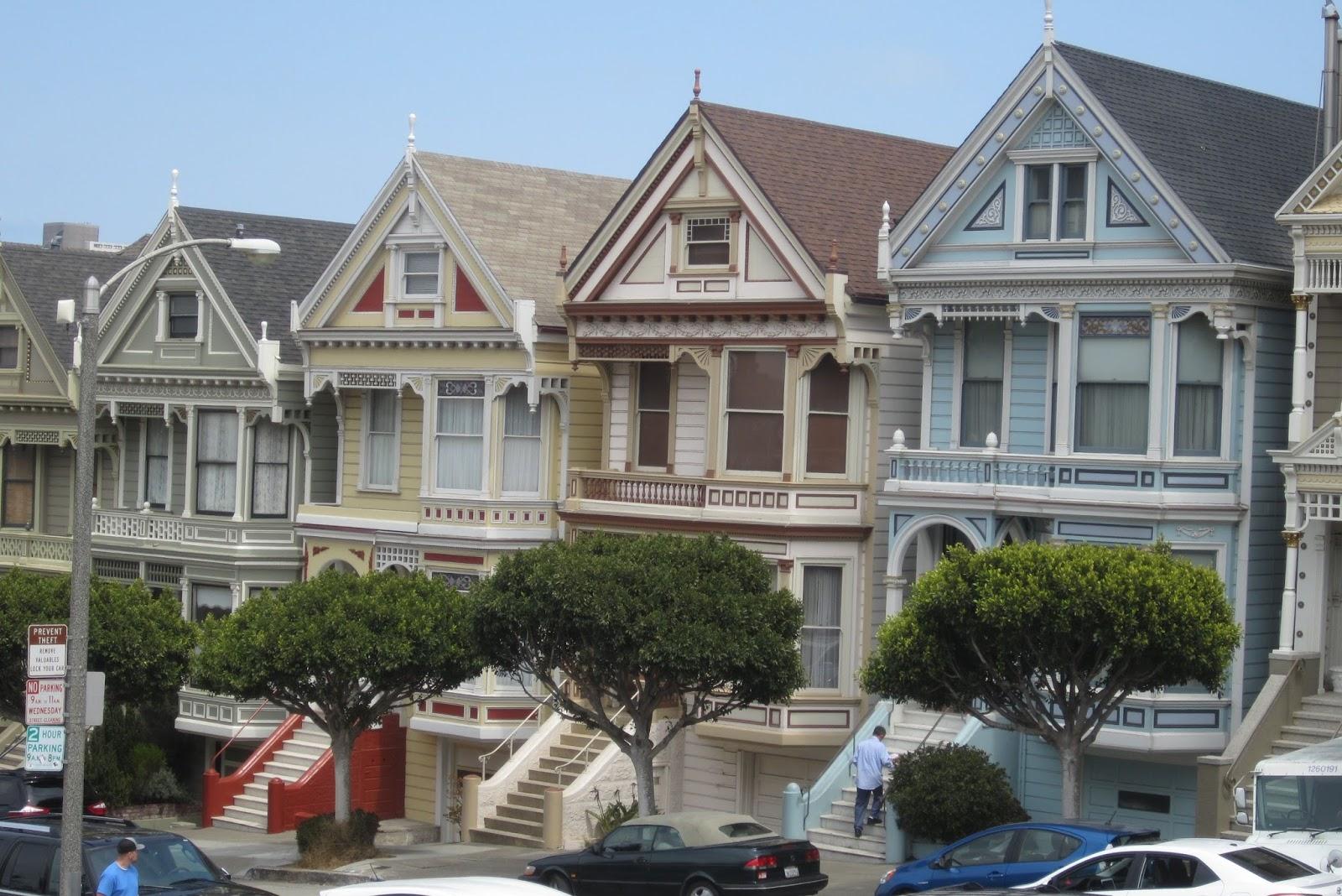 Painted Ladies Gingerbread Houses
