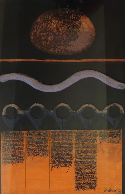 Antonio Andivero obra gráfica collage surrealista