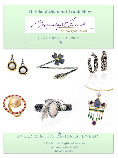 #BrendaSmithJewelry #Holiday #TrunkShow at #HighlandDiamond