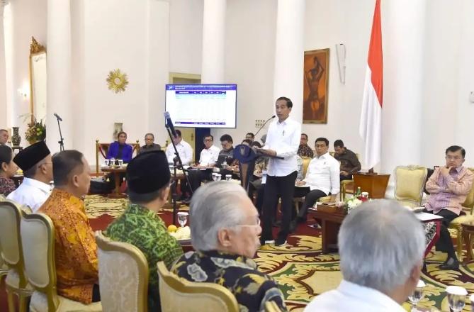 Pimpin Sidang Kabinet Paripurna, Presiden Ingin Ekspor dan Investasi Ditingkatkan