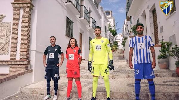 El Málaga presenta las equipaciones Nike 2021/2022