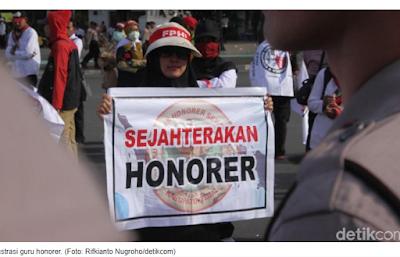 Duh Duh! Guru Honorer di Bandung-Sumedang Harus Siap Mengundurkan Diri