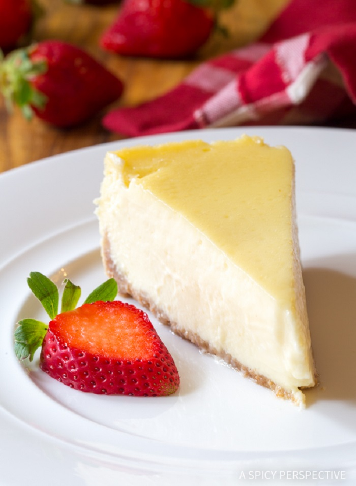 Perfect Slow Cooker Cheesecake