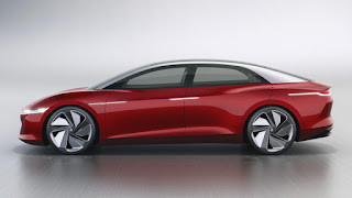 2020 Volkswagen I.D. Vizzion electric concept