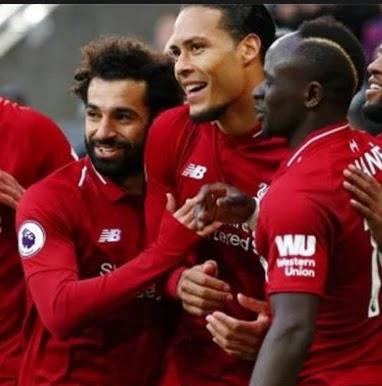 محمد صلاح افضل لاعب فى ليفربول هذا الشهر