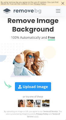 Online picture background remover