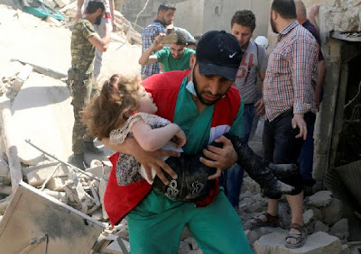 Syria : Aleppo is Burning and Western Media is Silent