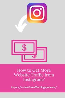 instagram website traffic
