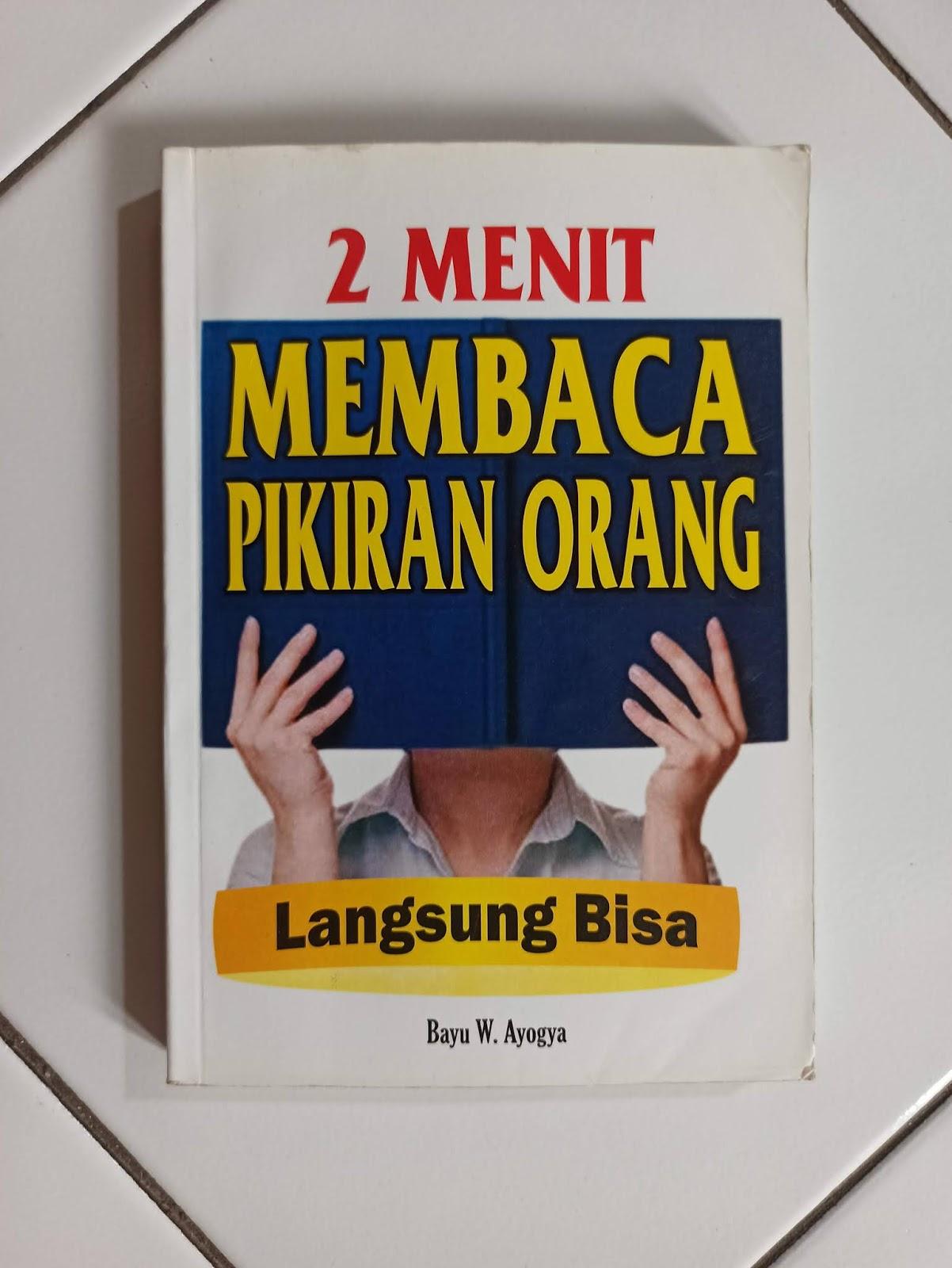 Buku karya Bayu W. Ayogya